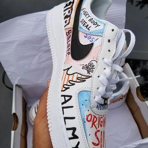 Nike Acg Shoes Nike Air Force One Custom Asap Rocky Poshmark